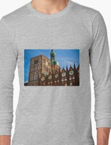 Stralsund, Mecklenburg Western Pomerania, Germany. Long Sleeve T-Shirt