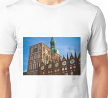 Stralsund, Mecklenburg Western Pomerania, Germany. Unisex T-Shirt