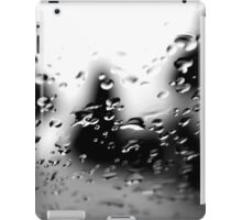 The First Raindrops Of The Winter iPad Case/Skin
