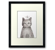 Dream cat Framed Print