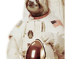 Astronaut Sloth by Poyo
