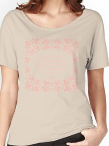 Jane Austen Persuasion Floral Love Letter Quote Women's Relaxed Fit T-Shirt