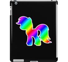 Rainbow Pony Silhouette iPad Case/Skin