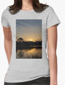Urban Sunset Womens Fitted T-Shirt