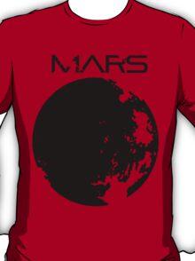Mars in black T-Shirt