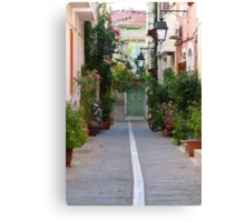 Gardens in Small Spaces Canvas Print
