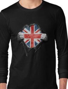 England Flag. Proud English Long Sleeve T-Shirt