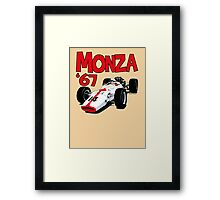 1967 Honda RA300 F1 Car Framed Print