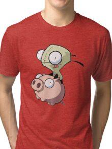 Invader Zim Tri-blend T-Shirt