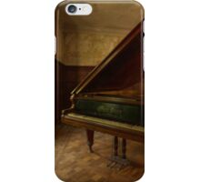 The piano song iPhone Case/Skin
