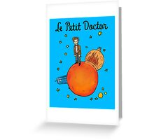 The Little Doctor Greeting Card
