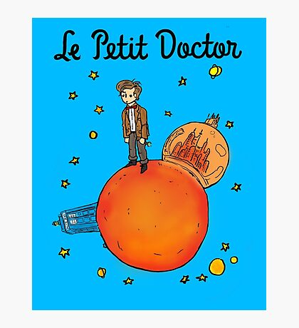 The Little Doctor Photographic Print