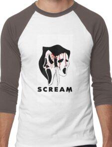 Ghostface killer Men's Baseball ¾ T-Shirt