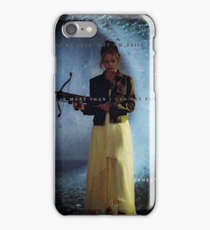 Buffy the Vampire Slayer (Prophecy Girl) iPhone Case/Skin