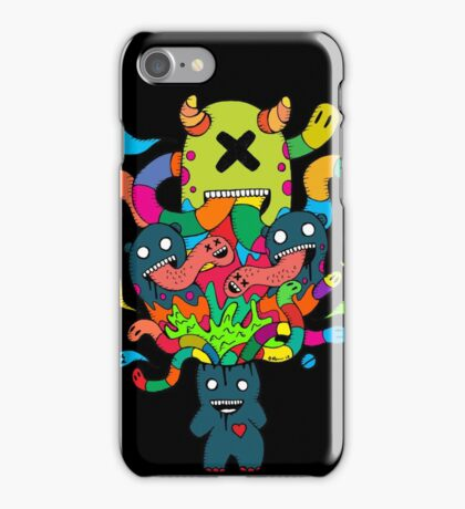 Monster Brains iPhone Case/Skin