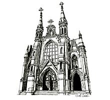 Cathedral of Saint Paul, Birmingham AL Photographic Print