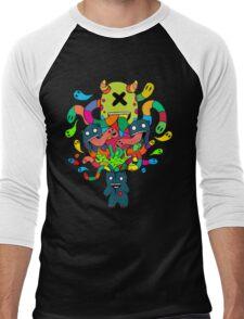 Monster Brains Men's Baseball ¾ T-Shirt