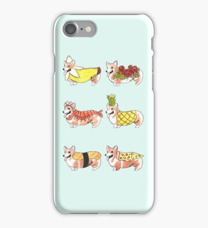 Food Costume Corgi 2 iPhone Case/Skin