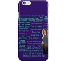 River Song Quotes iPhone Case/Skin