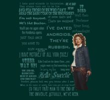 River Song Quotes | Unisex T-Shirt
