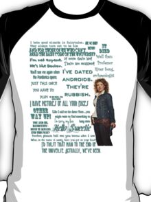River Song Quotes T-Shirt