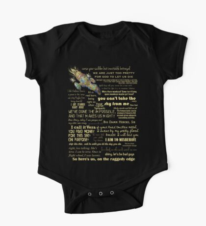 Firefly quotes One Piece - Short Sleeve