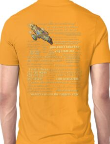 Firefly quotes Unisex T-Shirt