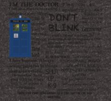 Dr Who quotes by Amberdreams