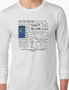 Dr Who quotes T-Shirt