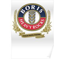 Boris - Heavy Rocks Poster