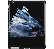 cloud sailing ship iPad Case/Skin