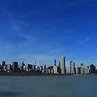 Chicago City Skyline by Adam Kuehl
