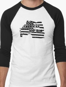 American Hip Hop Men's Baseball ¾ T-Shirt
