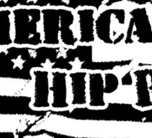 American Hip Hop Sticker