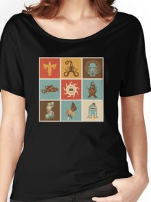 The Lovecraftian Squares Women's Relaxed Fit T-Shirt