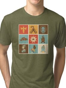 The Lovecraftian Squares Tri-blend T-Shirt