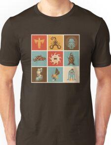The Lovecraftian Squares Unisex T-Shirt