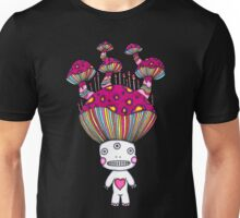 Third Eye Mushroom Unisex T-Shirt