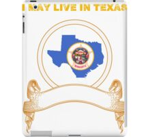 Live in Texas But Made in Minnesota iPad Case/Skin