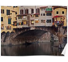 Ponte Vecchio Over the Arno Poster