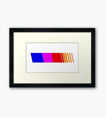 BLOND[E] Framed Print