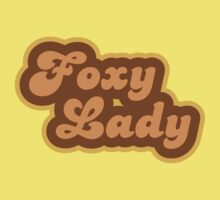 Foxy Lady - Retro 70s - Logo Kids Clothes