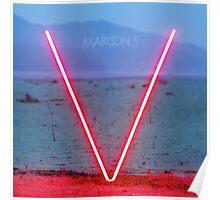 Maroon 5 - V Poster