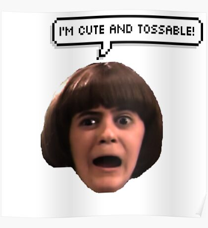 The glorious Coconut Head Poster