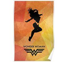 Wonderwoman Minimal Poster Poster