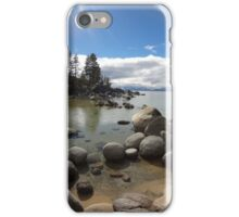 Sunlight Streaming Down at Lake Tahoe iPhone Case/Skin