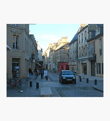 French Street Photographic Print