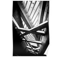 Modern conceptual high tech building Poster