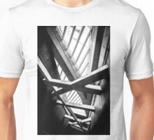 Modern conceptual high tech building Unisex T-Shirt