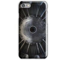 Closeup photo of a jet engine iPhone Case/Skin